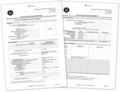 Voorbeeld van een gegenereerd lasser certificaat